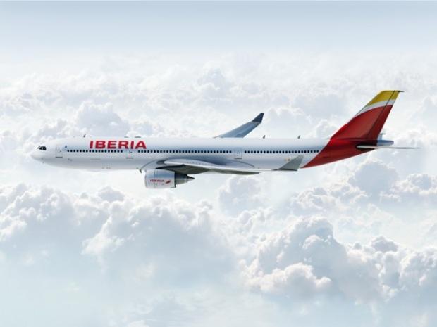 Iberia A330-300 (13)(Flt)(Iberia)(LR)