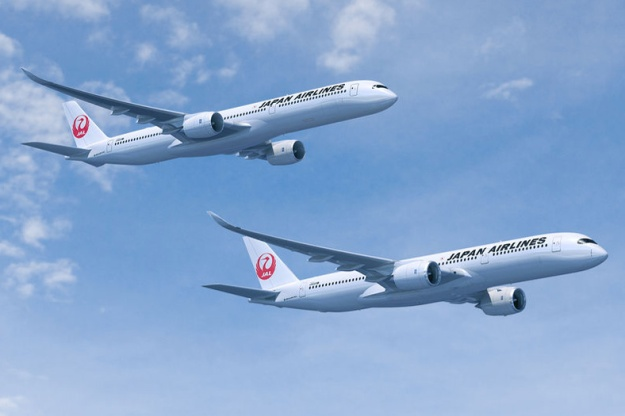 JAL-Japan Airlines A350-900 and A350-1000 (11)(Flt)(Airbus)(LR)