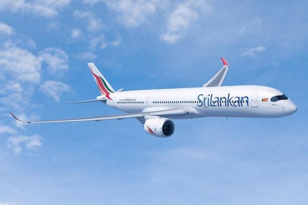 SriLankan A350-900 (99)(Flt)(Airbus)(LR)