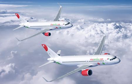 VivaAerobus.com A320-200 (06)(Flt)(Airbus)(LRW)