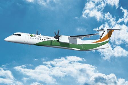 Air Cote d'Ivoire DHC-8-400 (12)(Flt)(Bombardier)(LRW)