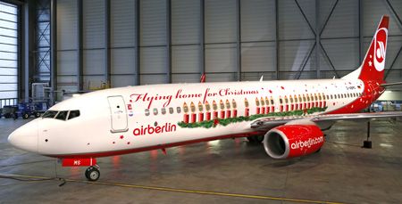 Airberlin 737-800 WL D-ABMS (13-Flying home for Christmas)(Grd)(Airberlin)(LRW)