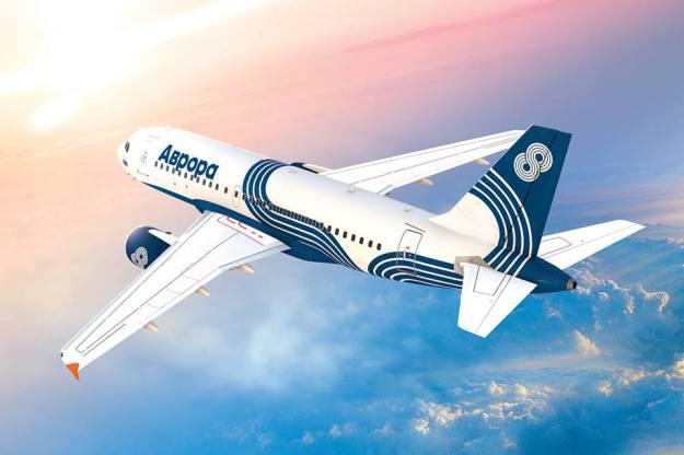 Aurora A319-100 (13)(Flt)(Aeroflot)(LR)