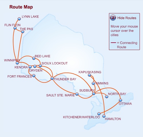 Bearskin 11.2013 Route Map