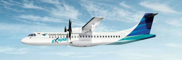 Garuda Indonesia Explore ATR 72-600 (09)(Flt)(Garuda Indonesia)(LR)