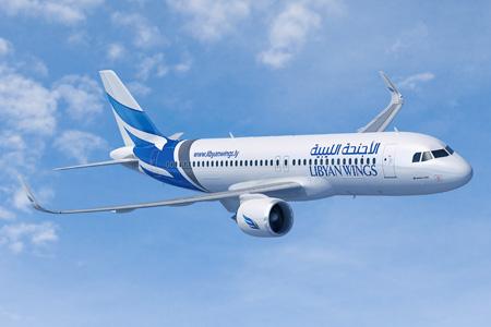 Libyan Wings A320-200 WL (14)(Flt)(Airbus)(LRW)