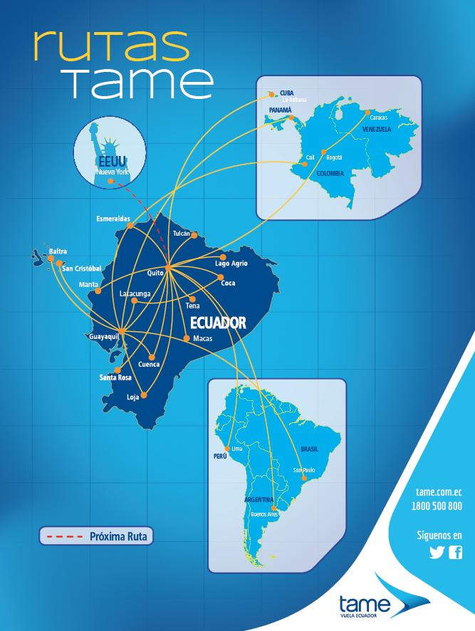 TAME launches its New York route with an Airbus A330-200 on November ...