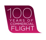 100 Years of Commercial Flight logo