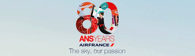 Air France 80 Years logo