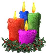 Christmas Candles #1