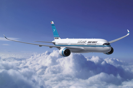 Kuwait A350-900 (93)(Flt)(Airbus)(LRW)