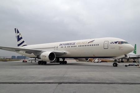 SkyGreece 767-300 SX-BPN (13)(Grd)(SkyGreece)(LRW)