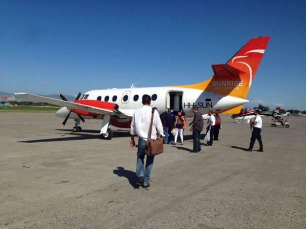 Sunrise Airways (Haiti) Jetstream 32 HH-SUN (12)(Grd)(Sunrise)(LR)