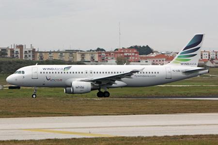 Windavia (SmartLynx) A320-200 YL-LCL (13)(Grd) LIS (PDB)(LRW)