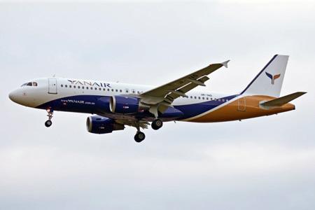 YanAir A320-200 UR-YAD (13)(Apr) MAN (RSK)(LRW)