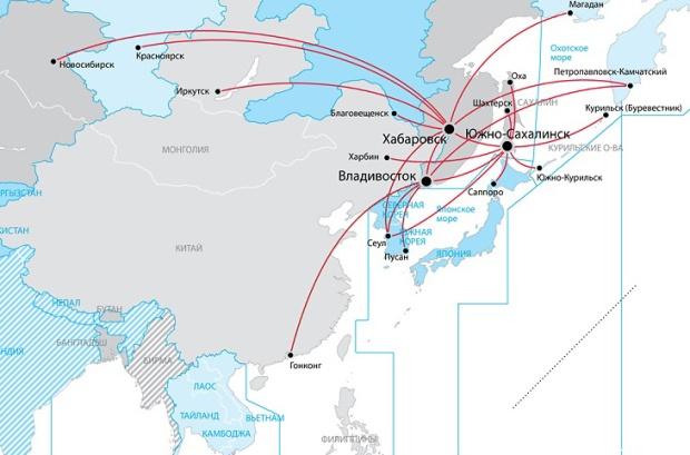 Aurora 1.2014 route map