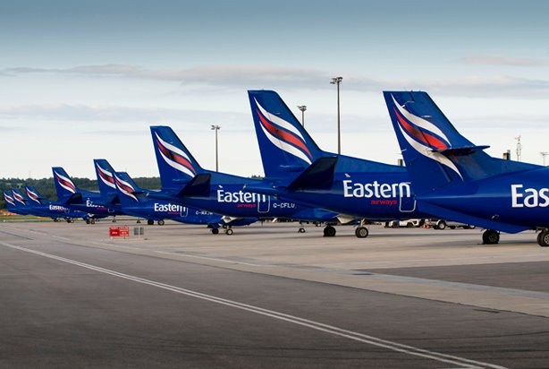 Eastern Airways Tails (Eastern)(LR)