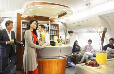 Emirates A380 Bar (Emirates)(LR)