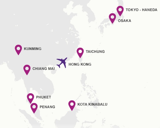 Hk Express Unveils A Bold New Look Will Add Seoul On