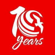 Air Arabia 10 Years logo (Air Arabia)