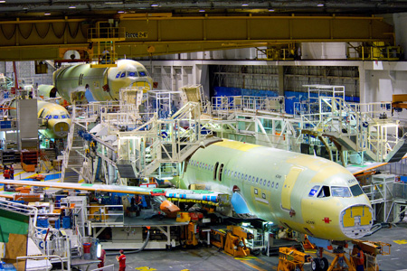 Airbus A320 Family Production Line (Airbus)(LRW)
