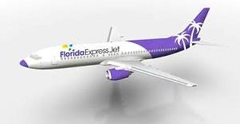 Florida Express Jet 737-400