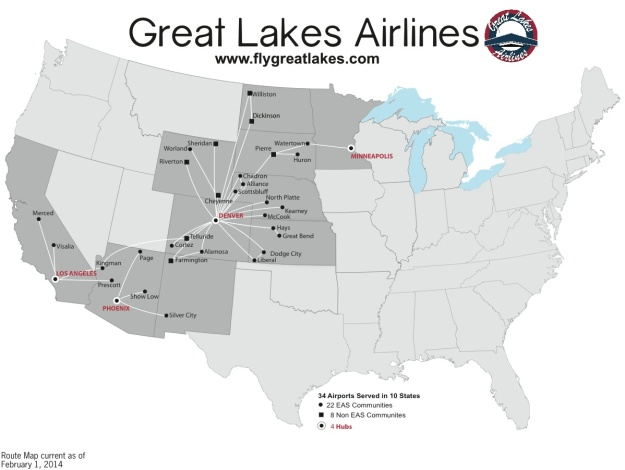 Great Lakes 2.2014 Route Map