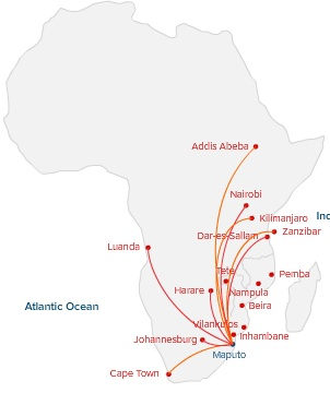 LAM African 2.2014 Route Map