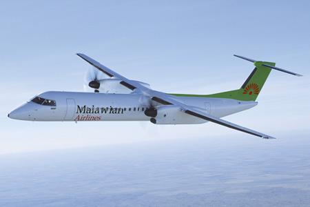 Malawian DHC-8-400 (14)(Flt)(Bombardier)(LRW)