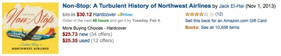 Non-Stop- Northwest Airlines (book)