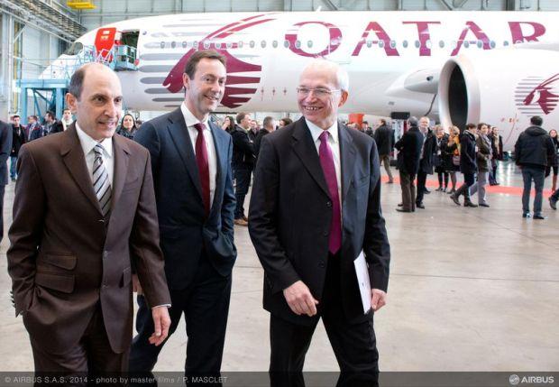 Qatar-Airbus A350 TLS (Airbus)(LR)