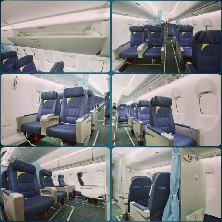 RwandAir DHC-8-400 Cabin Photos (RwandAir)(HR)