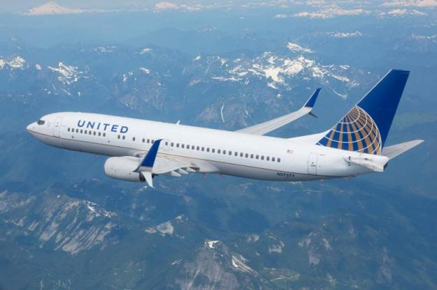 AVIATION PARTNERS BOEING UNITED AIRLINES 737-800