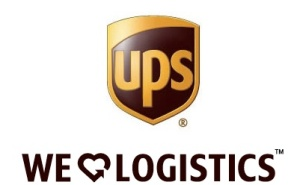 UPS-We Love Logistics logo