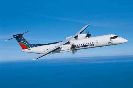 US-Bangla DHC-8-400 (14)(Flt)(Bombardier)(LRW)