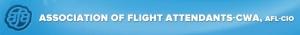 AFA-Association of Flight Attendants logo