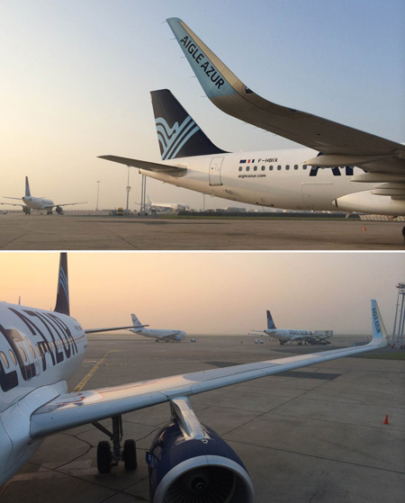 Aigle Azur A320-200 WL F-HBIX (13)(Sharklets)(Aigle Azur)(LRW)