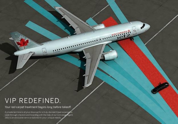 Air Canada Jets VIP Redefined (Air Canada)(LR)