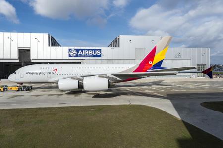 Asiana A380-800 F-WWAP (HL7625)(06)(Grd) XFW (Airbus)(LRW)
