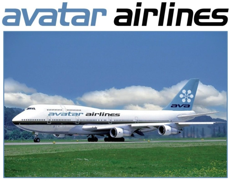 Avatar Airlines 747-400 (Avatar)(LR)