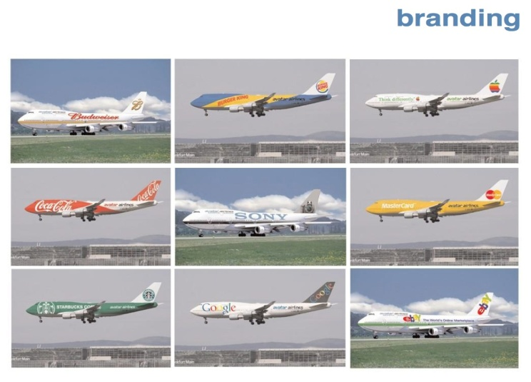 Avatar Airlines 747-400 logojets