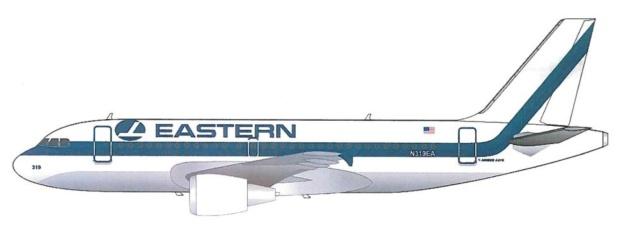 Eastern A319-100 (EALG)(LR)