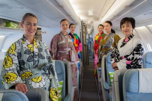 Finnair kimonos (Finnair)(LR)