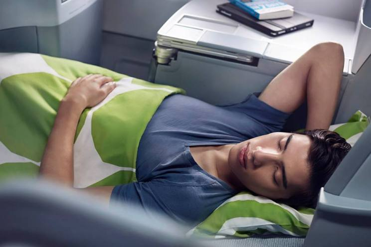 Finnair Lie-Flt Business Class Seats (Finnair)(LR)