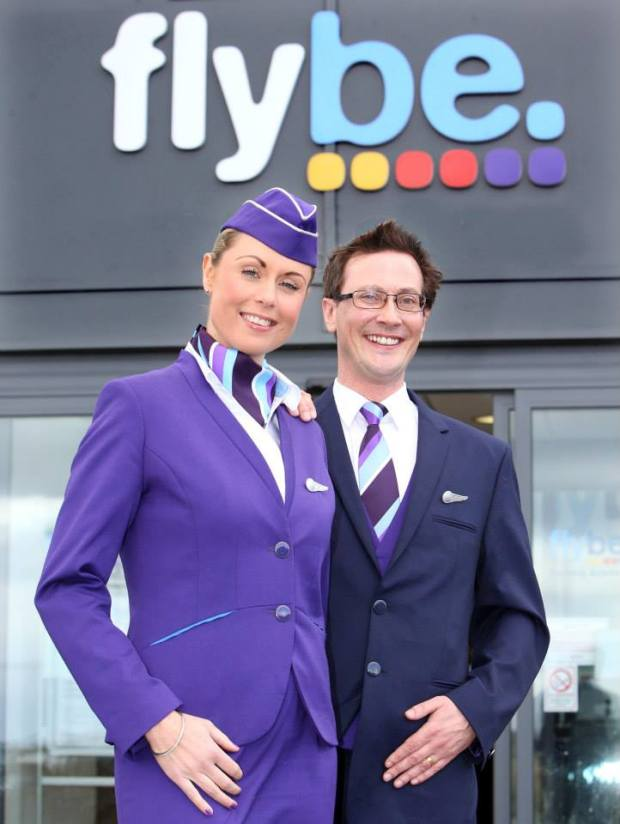 Flybe 2014 New Uniforms (Flybe)(LR)