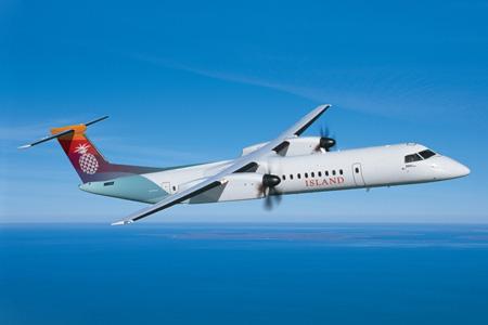 Island Air DHC-8-400 (14)(Flt)(Bombardier)(LRW)