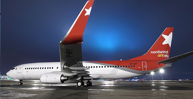Image result for Nordwind Airlines Boeing 737-800