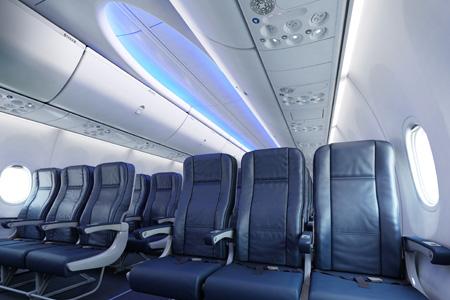 Sunwing 737-800 WL C-GNCH (Sky Interior cabin)(Sunwing)(LRW)