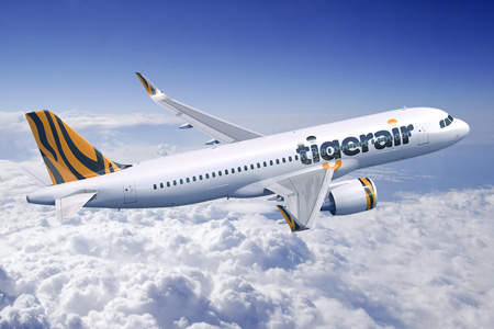 Tigerair A320neo WL (13)(Flt)(Airbus)(LRW)
