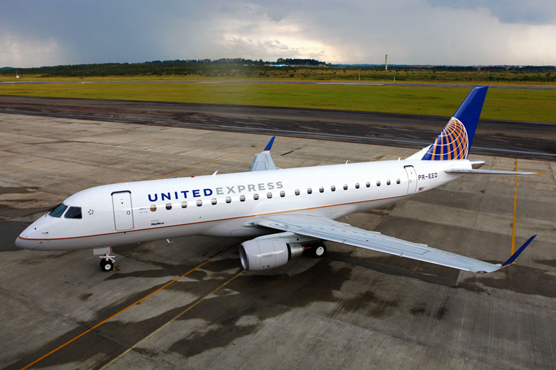 Embraer delivers the first Embraer E175 to SkyWest ... - photo#6